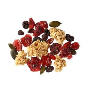Granola blonde & berries