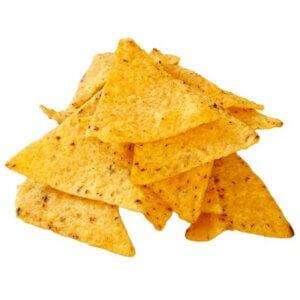 Tortillas chips bbq