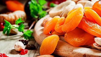 Αποξηραμένα φρούτα με προσθήκη Ζάχαρης
