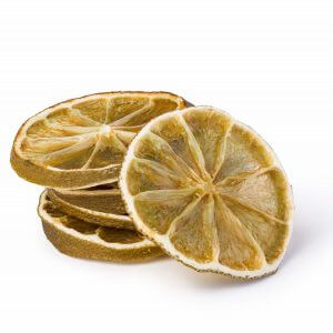 Αποξηραμένη φέτα λεμονιού